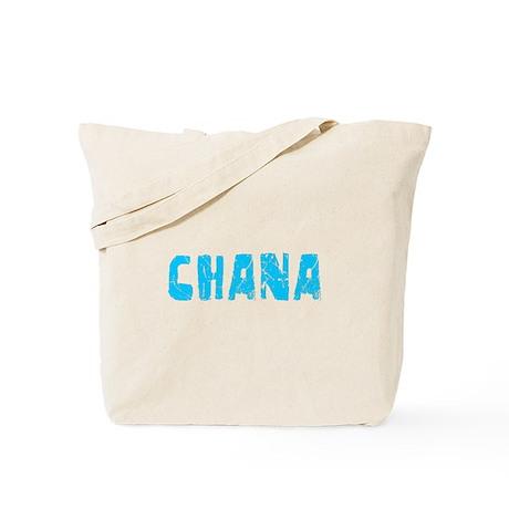 Chana Faded (Blue) Tote Bag