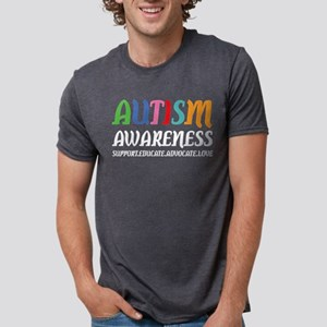 Autism Awareness Support Educate Advocate T-Shirt