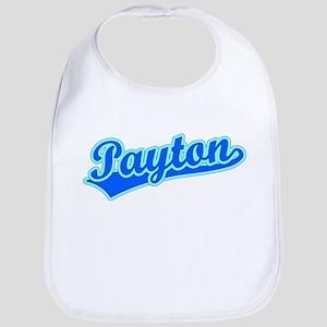 Retro Payton (Blue) Bib