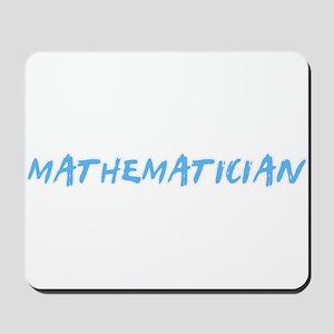 Mathematician Profession Design Mousepad
