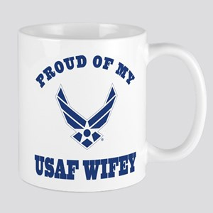 Air Force Wifey Proud Husband Mugs