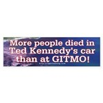 More People Died Bumper Sticker