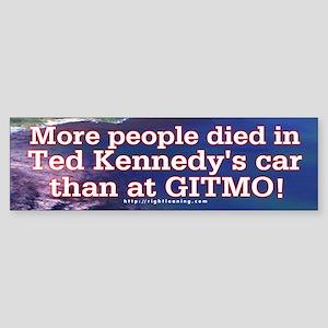 More People Died Bumper Sticker (50 pk)