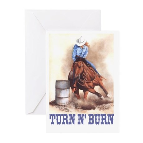 TURN N' BURN Greeting Cards (Pk of 10)