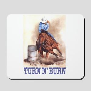 TURN N' BURN Mousepad