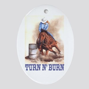 TURN N' BURN Keepsake (Oval)