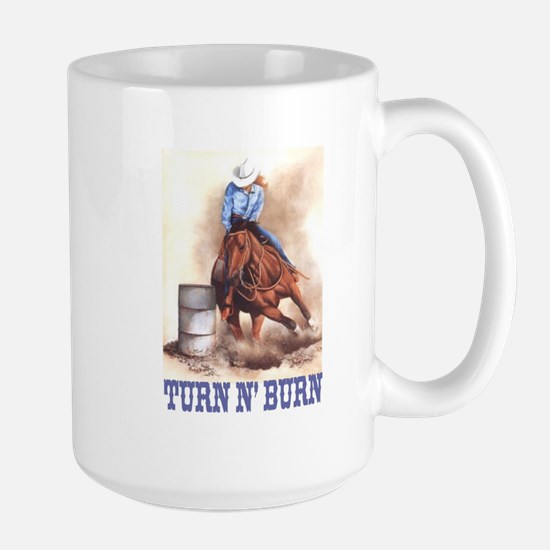 TURN N' BURN Large Mug