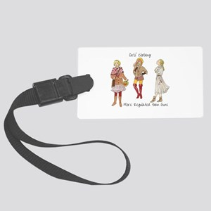 Girls Clothing More Regulated th Large Luggage Tag