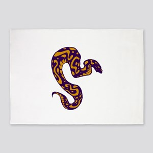 SLITHER SURVIVE 5'x7'Area Rug