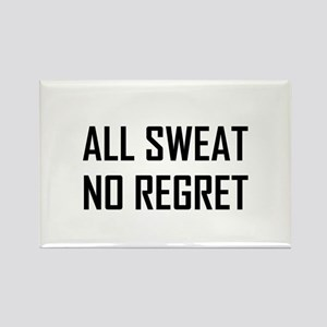 All Sweat No Regret Workout Magnets