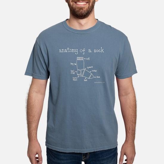 Anatomy of a Sock Women's Dark T-Shirt