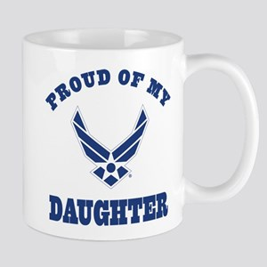 Air Force Daughter Proud Parent Mugs