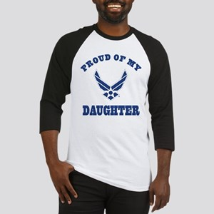 Air Force Daughter Proud Parent Baseball Jersey