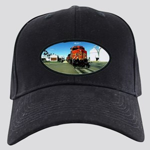 Freight Train Black Cap with Patch