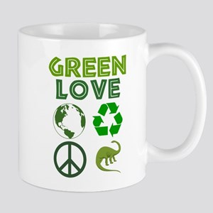 Green Love - Dino 1 Mug