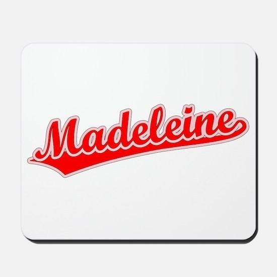Retro Madeleine (Red) Mousepad