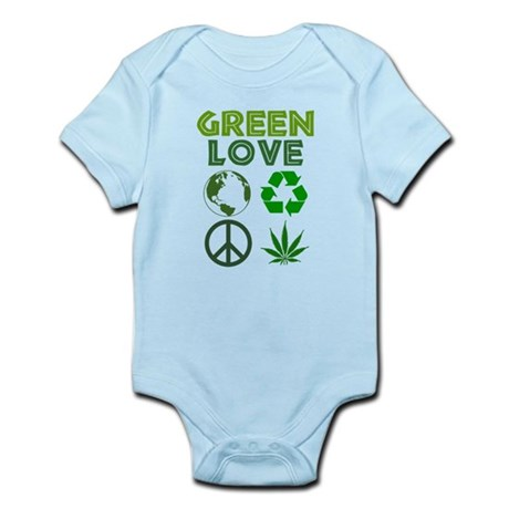 Green Love - MJ 1 Infant Bodysuit
