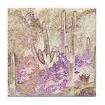 Wild Saguaros Tile Coaster