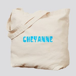 Cheyanne Faded (Blue) Tote Bag