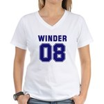 WINDER 08 Women's V-Neck T-Shirt