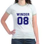 WINDER 08 Jr. Ringer T-Shirt