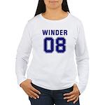 WINDER 08 Women's Long Sleeve T-Shirt