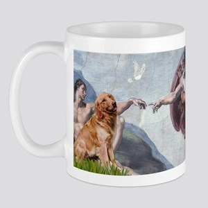 Creation of Golden Retreiver Mug