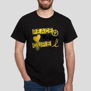 Peace Love Cure COPD T-Shirt