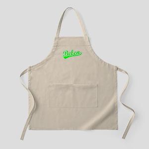 Retro Belen (Green) BBQ Apron