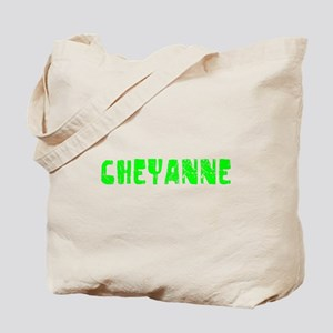 Cheyanne Faded (Green) Tote Bag