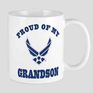 Air Force Grandson Mugs