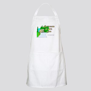 Don't Tailgate or We'll Flush BBQ Apron