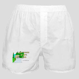 Don't Tailgate or We'll Flush Boxer Shorts