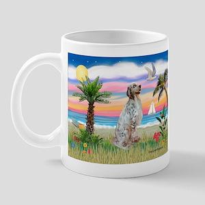 Palms / English Setter Mug
