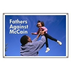 Fathers Against McCain Banner