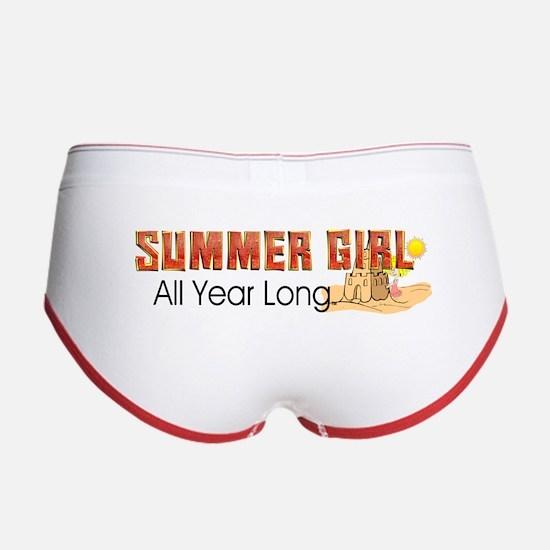 Summer Girl Women's Boy Brief