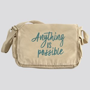 Anything is possible Messenger Bag