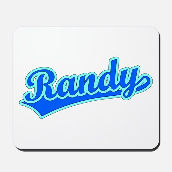Retro Randy (Blue) Mousepad