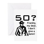 50th Birthday Greeting Cards (Pk of 10)