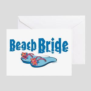 Beach Bride 2 Greeting Card