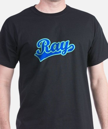 Retro Ray (Blue) T-Shirt