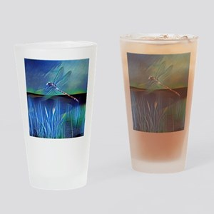 Dragonfly Pond Drinking Glass