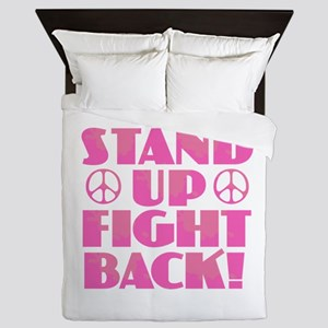 Stand Up Fight Back Queen Duvet