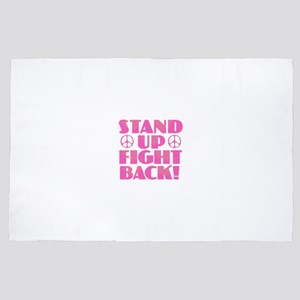 Stand Up Fight Back 4' x 6' Rug
