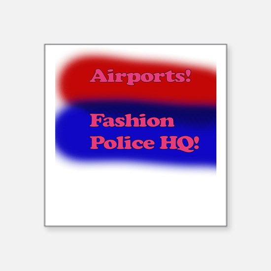 Fashion Police Sticker