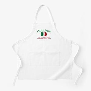 Gd Lkg Italian 2 BBQ Apron