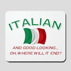 Gd Lkg Italian 2 Mousepad