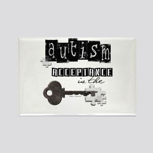 Autism Acceptance Rectangle Magnet