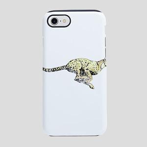 Vintage Running Cheetah iPhone 8/7 Tough Case