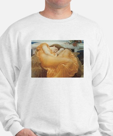 Flaming June c. 1895 Sweatshirt